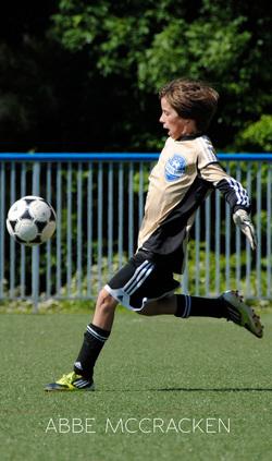Goalie - Soccer Sports Photography, Charlotte Soccer Academy