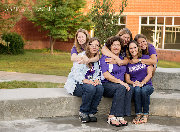 Fifth grade teaching team at Elizabeth Lane Elementary school