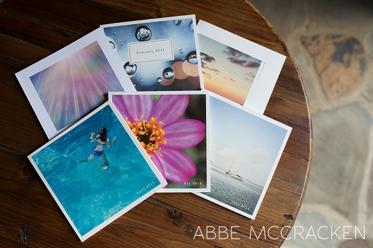 Charlotte NC photographer Abbe McCracken's Artifact Uprising Instagram books