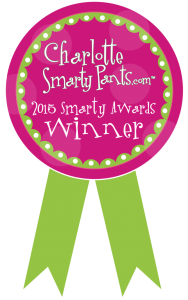 Charlotte Smarty Pants 2015 winner for Best Family Photographer