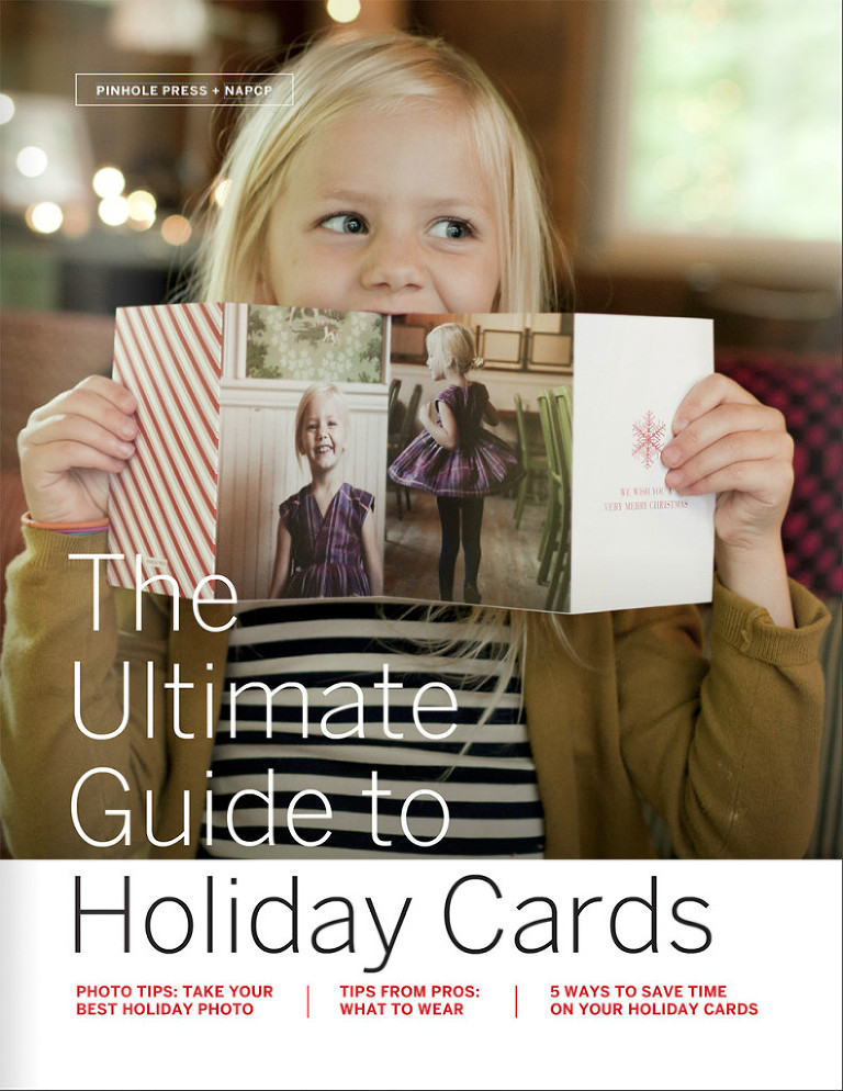 The Ultimate Guide to Holiday Cards from Pinhole Press and National Association of Professional Child Photographers