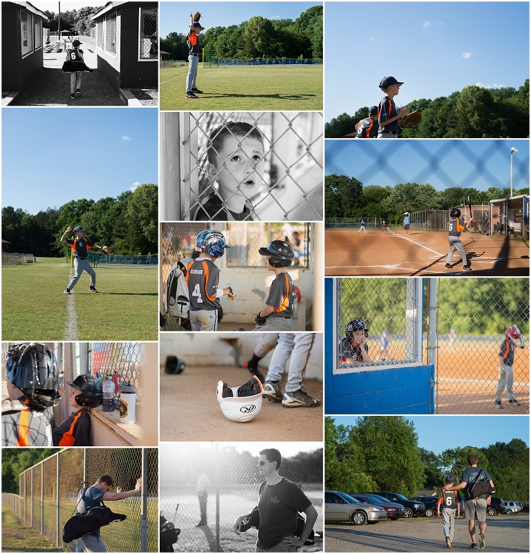 youth baseball photography - South Charlotte Recreation Association Spring Season 2016