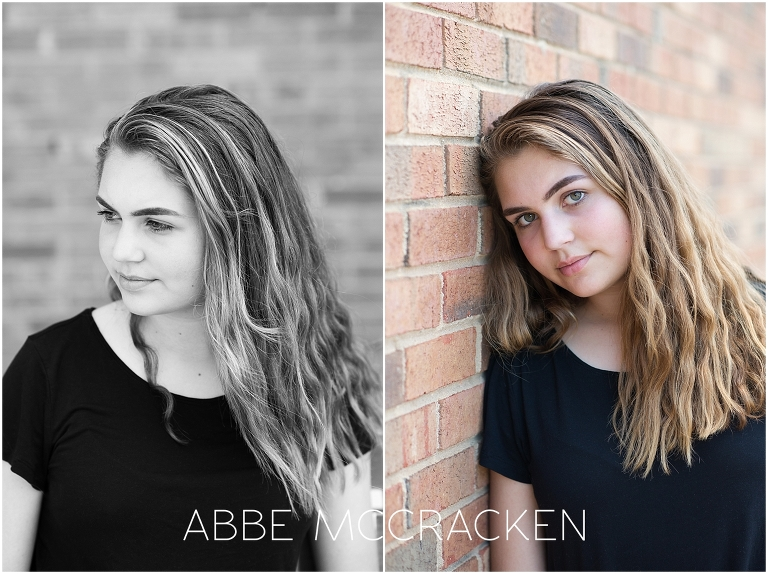 modeling portfolio pictures, teenage girl - charlotte nc
