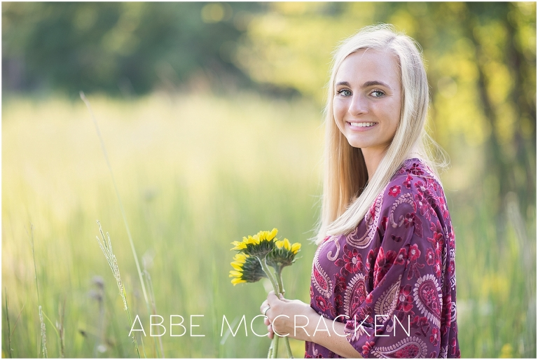 Boho Chic Senior Portraits near Charlotte NC