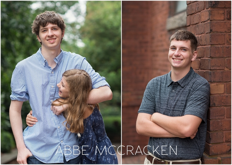 Uptown Family Portraits in Charlotte, NC