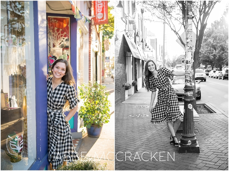 Urban Senior Portraits Charlotte, NC photographed in Noda