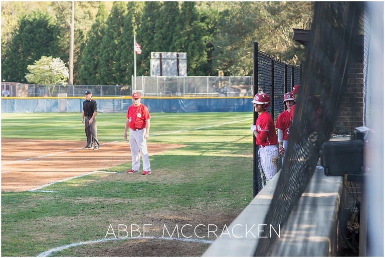 Candid moments during high school baseball - Providence Day vs. Charlotte Country Day