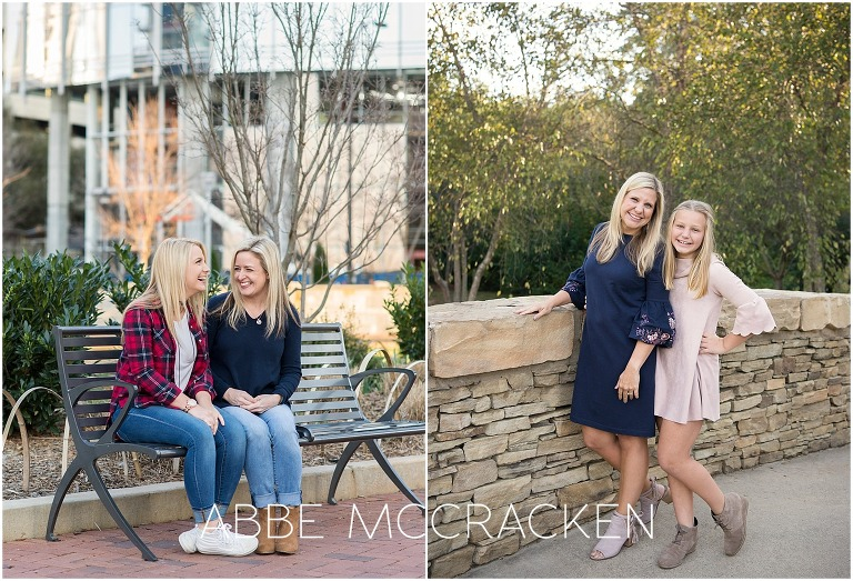Mother and daughter photos in Charlotte, NC