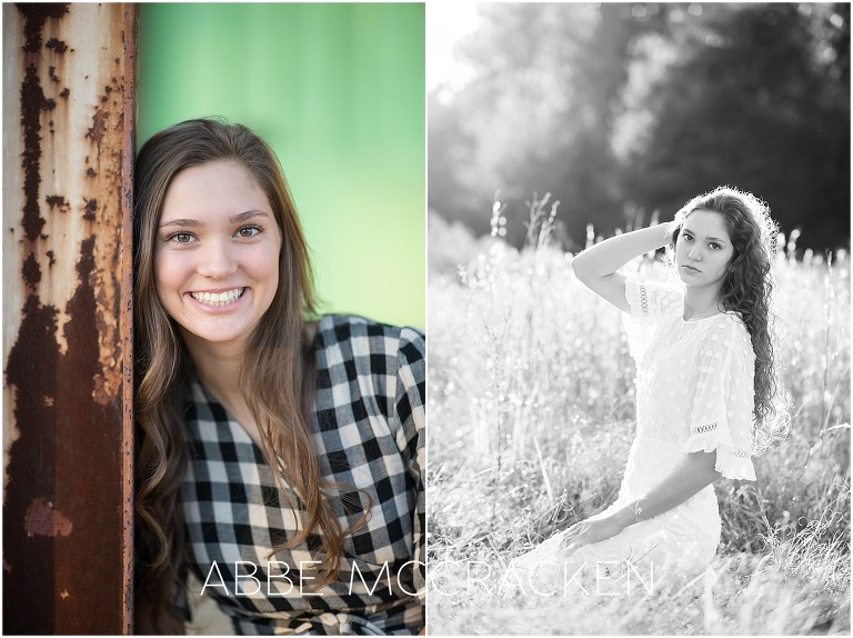 Portraits of high school seniors - Charlotte, NC