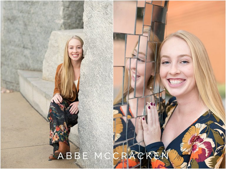 Senior pictures Uptown Charlotte NC