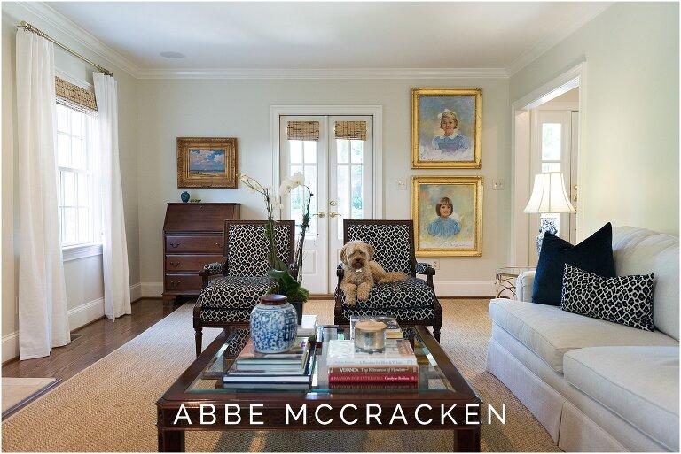 Formal living - interior design photography
